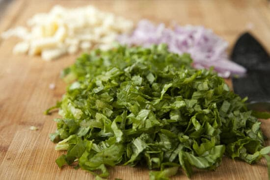 Chop wisely - Escarole Barley Salad