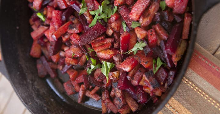 Red Flannel Hash for Breakfast or Brunch ~ Macheesmo