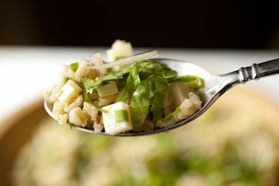 Escarole Barley Salad ~ Macheesmo
