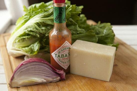 Escarole is so good in this Escarole Barley Salad