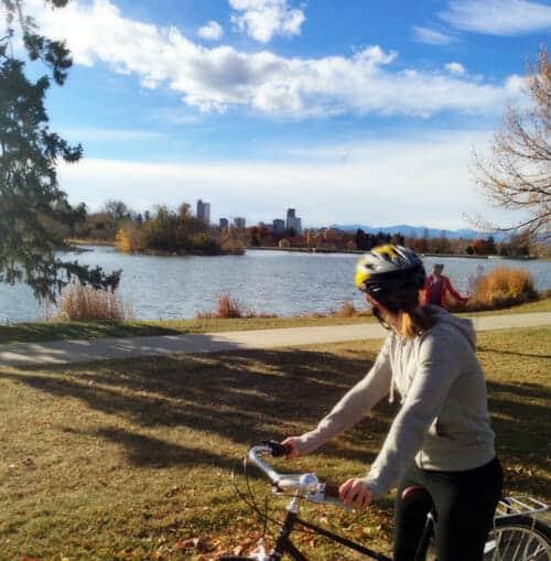 bikinginpark