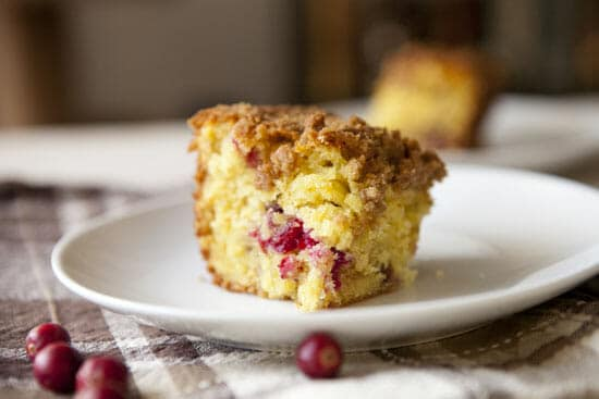 So good, Cranberry Orange Coffee Cake from Macheesmo