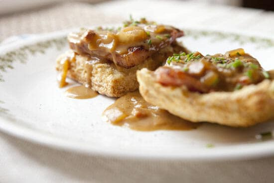 Biscuits and Red Eye Gravy - Macheesmo