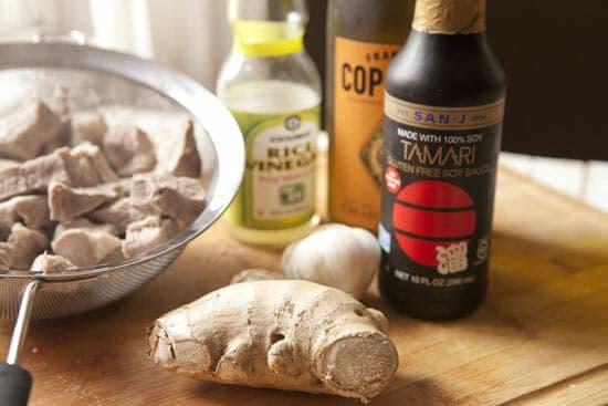 Goooood flavors - Soy Braised Pork Shoulder