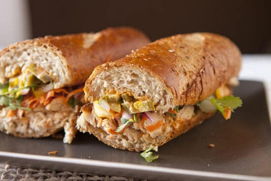 Turkey Banh Mi ~ Macheesmo