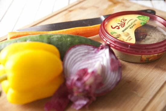 Crunchy stuff - Veggie Pinwheels