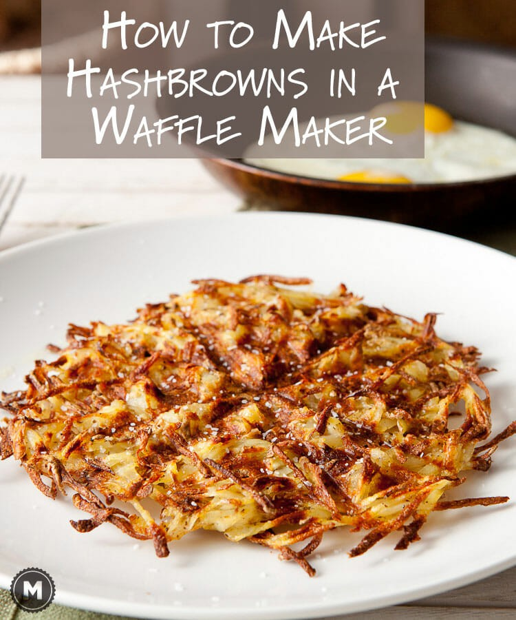 How to make perfect, crispy homemade Waffle Maker Hash Browns!