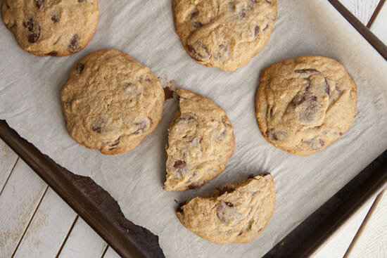 Perfect doneness - Chili Chocolate Chip Cookies