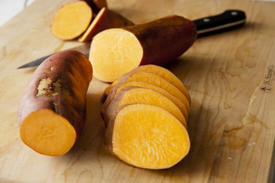 Slice 'em thick! - Sweet Potato Rounds