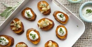 Sweet Potato Rounds - Macheesmo