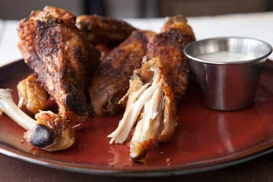 Tender Slow Roasted Chicken Wings