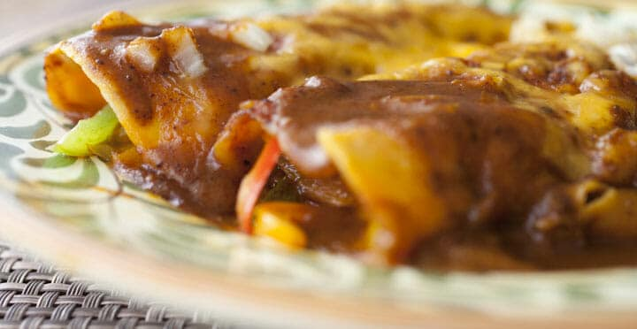 Chili Gravy Enchiladas Recipe