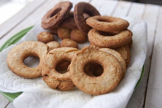 These Old Fashioned Sour Cream Donuts cook fast