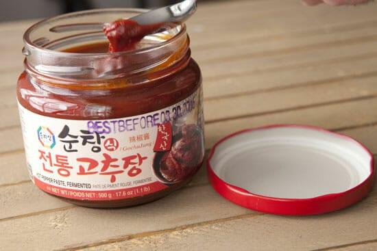 The good stuff for Tofu Bibimbap