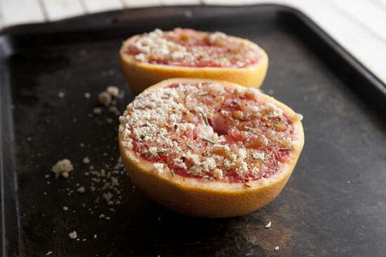 Ready to go - Broiled Grapefruit