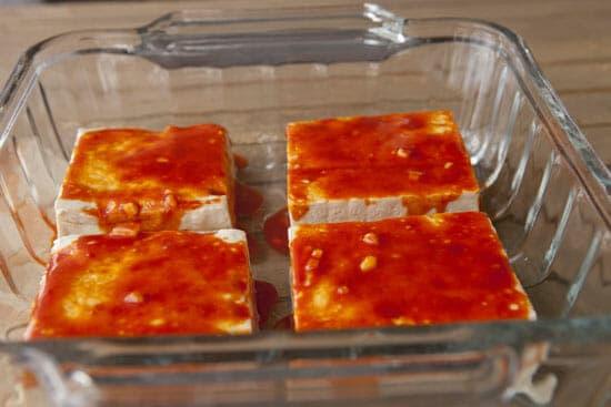 Ready to bake! - Tofu Bibimbap