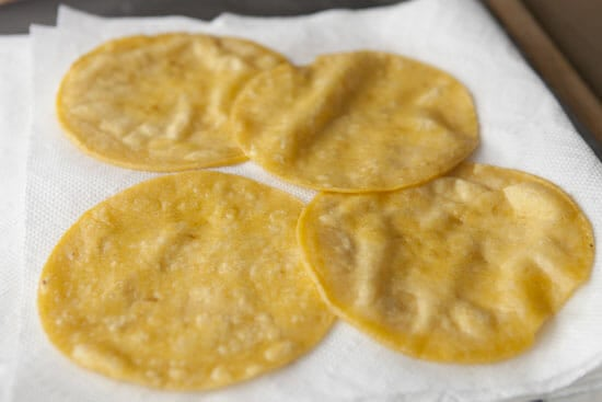 ENchilada tortillas