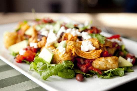 Totchos Salad ~ Macheesmo