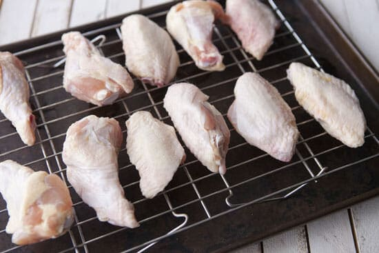 starting slow roasted chicken wings