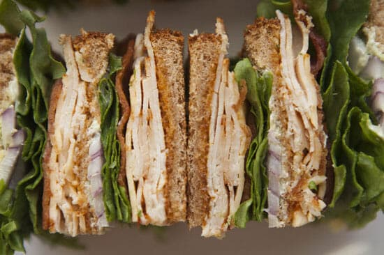 Chipotle Club Sandwich from Macheesmo