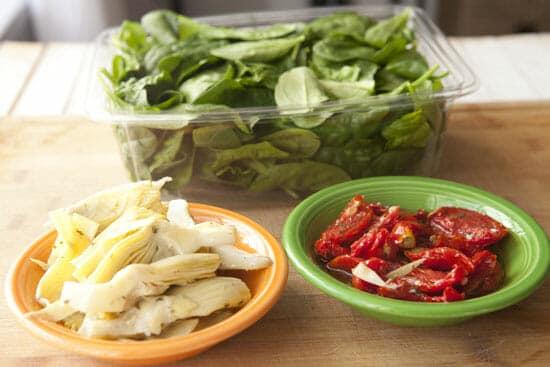 Solid add ins - Spinach Artichoke Risotto