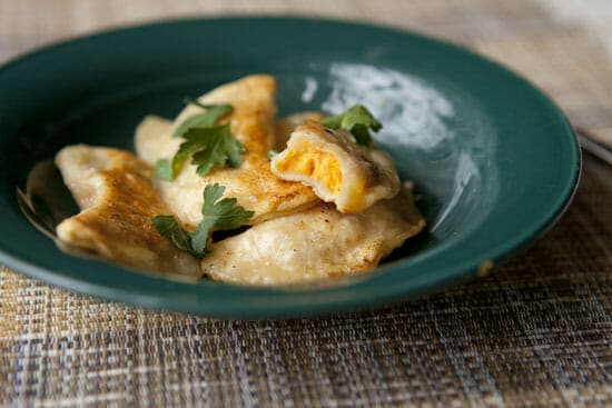 sweet potato pierogi