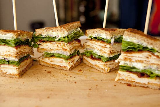 Chipotle Club Sandwich - Macheesmo