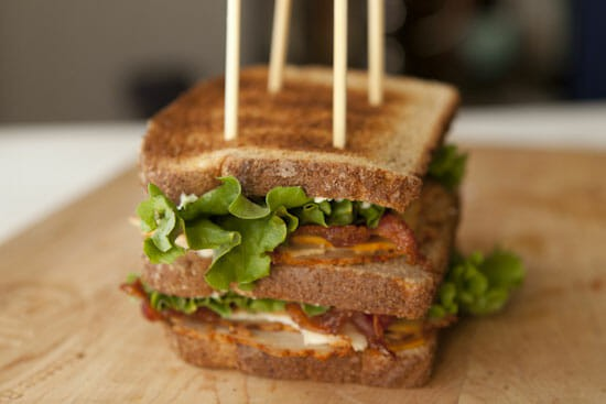 Chipotle Club Sandwich ~ Macheesmo