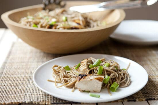 Chicken Soba Noodle Salad ~ Macheesmo