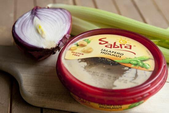 Crunchy meets creamy - Hummus Egg Salad