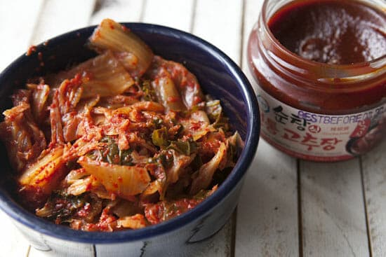 Stars of the show - Kimchi Stew