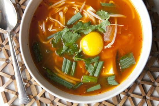 Kimchi Stew from Macheesmo