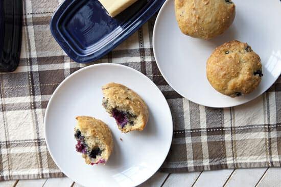 Maple Blueberry Muffins ~ Macheesmo