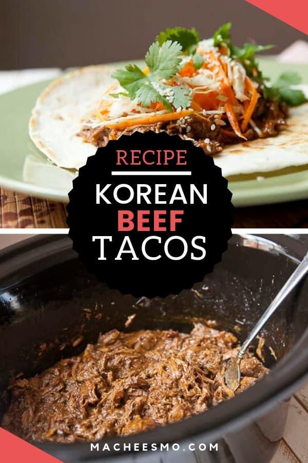 Slow Cooker Korean Beef Tacos