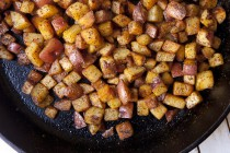 How to make Home fries at Home - Home fries are a breakfast staple but getting the balance right between tender potatoes and crispy edges can be tricky. Here's the full-proof way to make them!