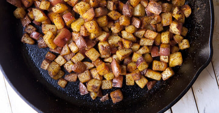 How to Make Home Fries - Step by Step ~ Macheesmo