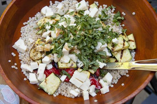 Good flavors! - Israeli Couscous Salad