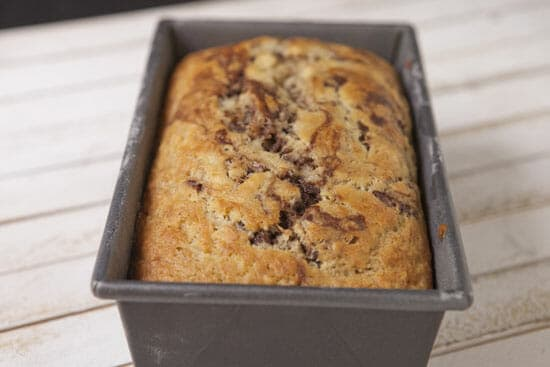 Yum - Marbled Banana Bread
