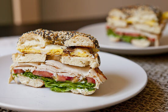 Breakfast Club Sandwich from Macheesmo