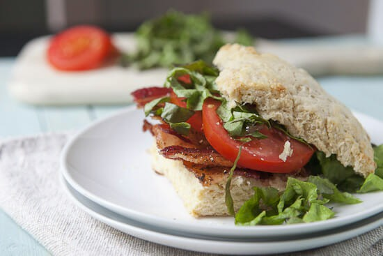 Biscuit BLTs from Macheesmo