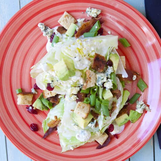 Iceberg Wedge Salad - Macheesmo