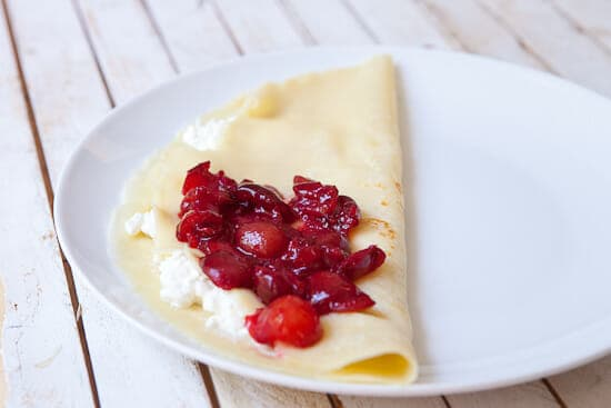 Cherry time - Cherry Crepes