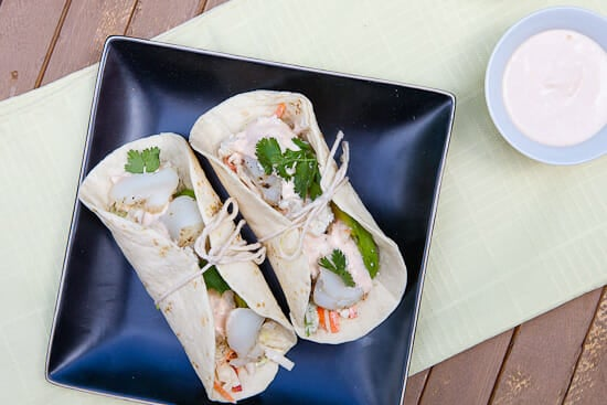 Grilled Cod Fish Tacos ~ Macheesmo