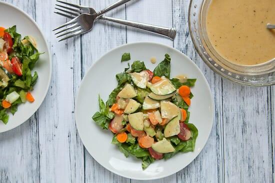 Hummus Salad ~ Macheesmo