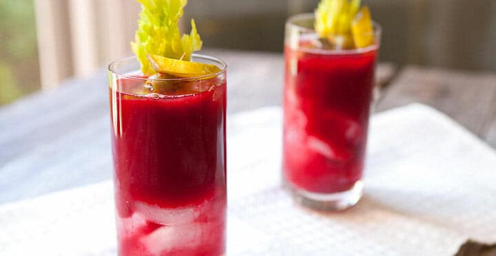 beet bloody mary
