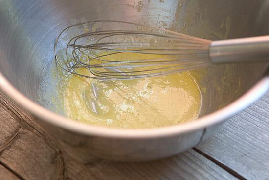 making mayo