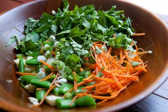 Veg prepped! - Kale Quinoa Salad