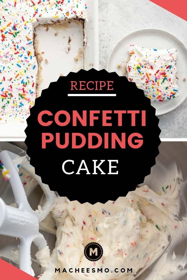 Confetti Pudding Cake