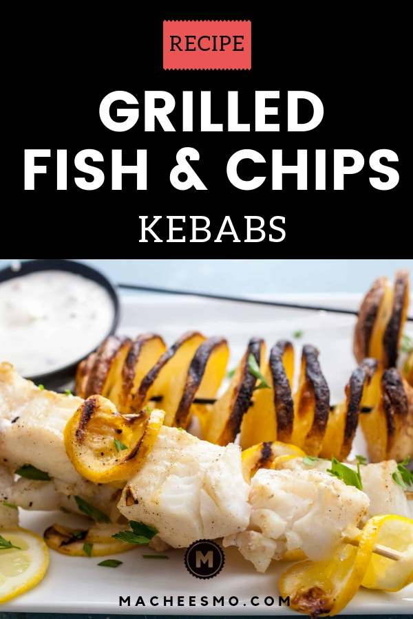 Fish and Chips Kebabs