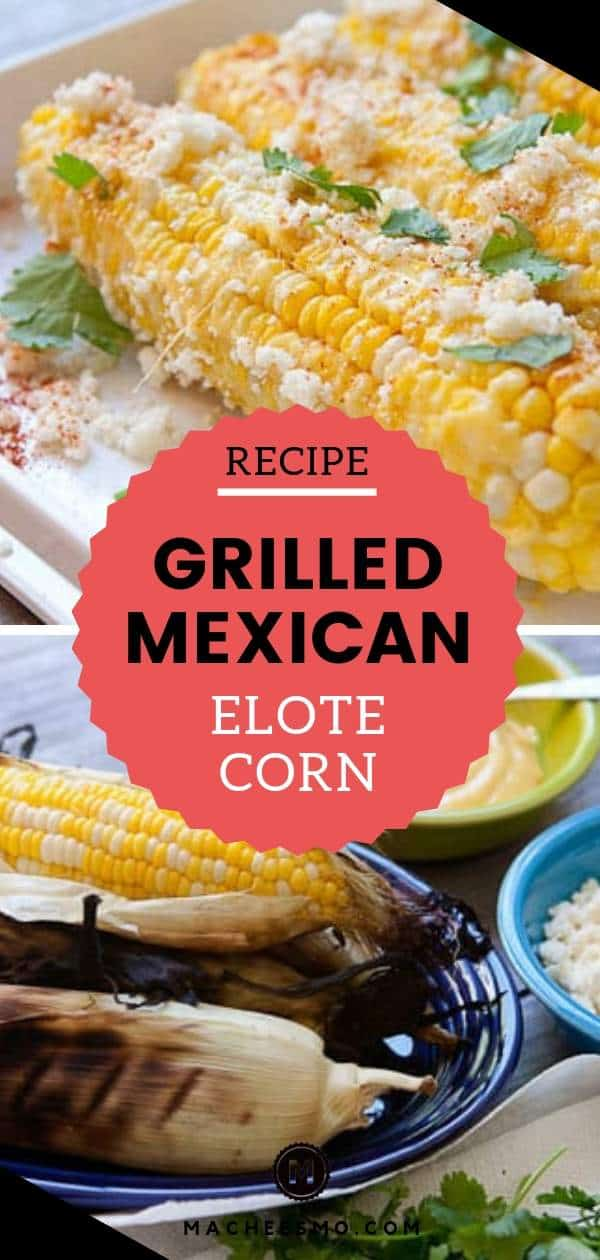 Grilled Elote Corn